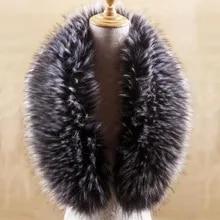 Warm Scarf Woolen Autumn and Winter Childrens Cross Girls Streamers White Rabbit Fur Scarf Bib Fur Collar Scarves Color : Black