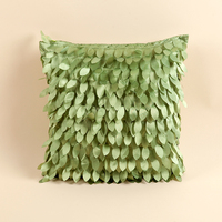 Embroidery Decorative Square Cushion Cover Car Couch Sofa Chair Seat Cushions Home Living Decor