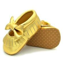Newest Tassels Soft Sole Anti-slip Sneakers Bowknot Shoes Newborn Infant Baby Girls Crib Shoes fashion winter newborn baby shoes soft plush ball booties for infant girls anti slip snow sneakers keep warm crib shoes