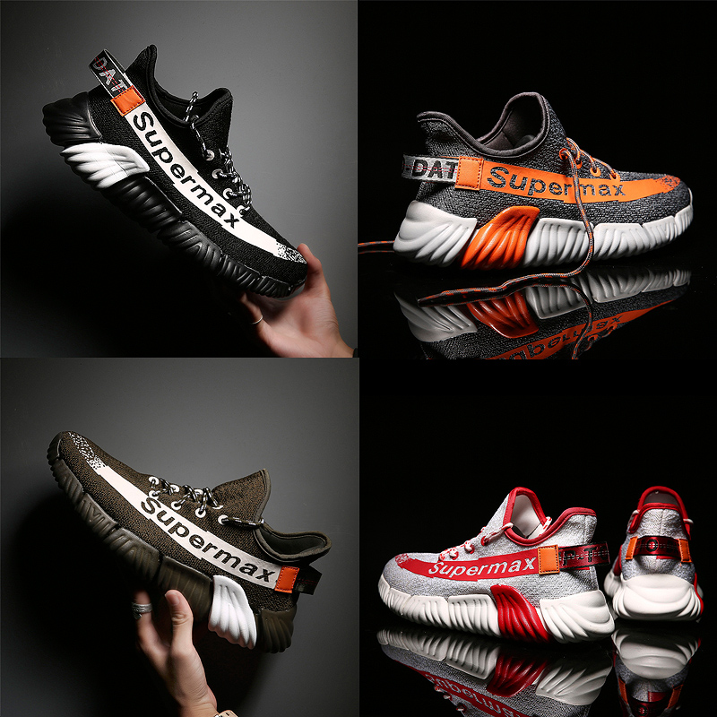 Men Running Shoes Casual Lace up