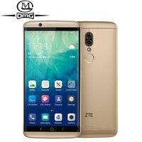 ZTE Axon7S A2018 Axon 7s 4G Smartphone Snapdragon 821 4GB RAM 128GB ROM 5.5 2K Screen Dolby Sound HIFI Dual camera mobile phone