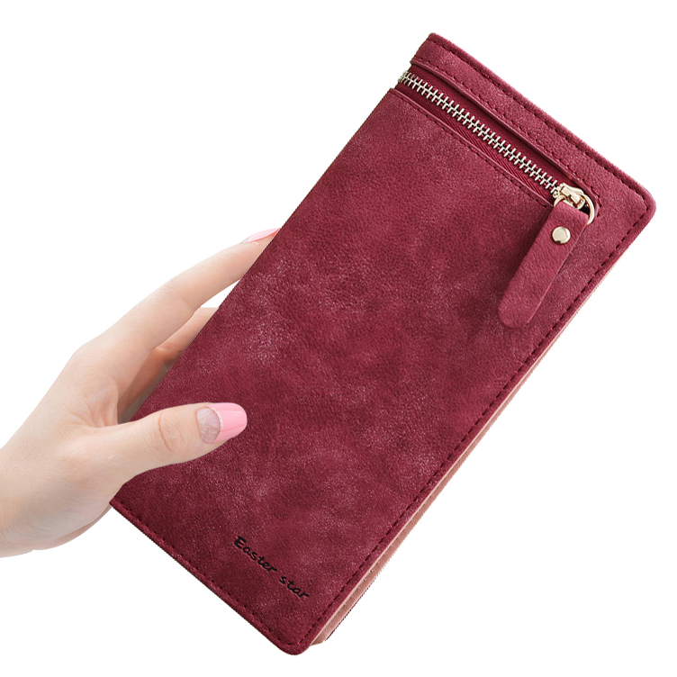Women Wallets Lady Purses Cards Holder Fold Vintage Money Ba