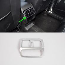 Auto accessories rear air vent cover 1pcs Car Styling accessories For 2017 SKODA KODIAQ auto accessories middle air vent cover 2pcs car styling accessories for 2017 skoda kodiaq