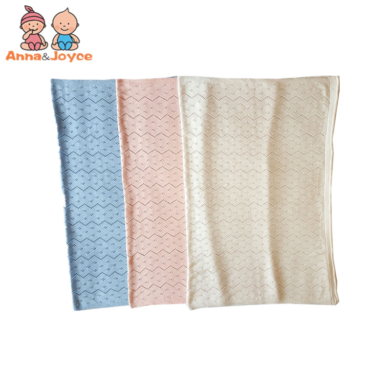 af13587d9b 2018 New Cotton Infantile Blanket Hollowed Out Good Air Permeability  Bedding for Four Seasons Available-in Receiving Blankets from Mother   Kids  on ...