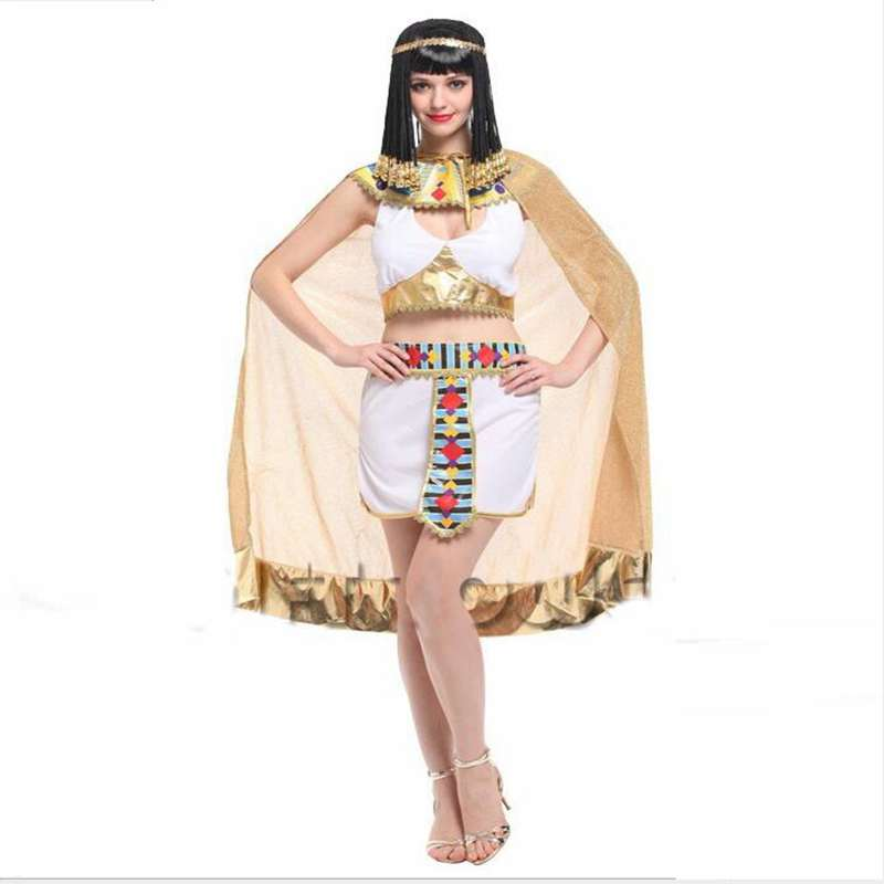 <font><b>Halloween</b></font> Party Costumes Performing <font><b>Sexy</b></font> Egyptian <font><b>Queen</b></font> Cosplay Costume image