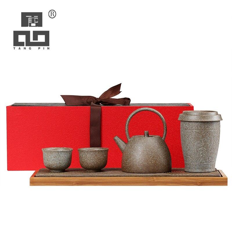 Théières en céramique japonaise TANGPIN thé chinois kung fu ensembles de thé