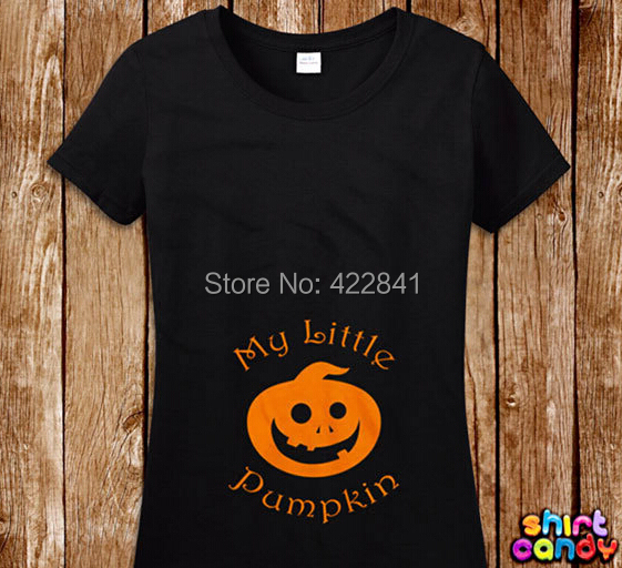 Halloween Pregnancy T Shirt.Us 17 4 Little Pumpkin Halloween Maternity Themed T Shirt Pregnancy Expecting New Mom Gift For Her Baby Shower Pregnant Infant Birth Mom In T Shirts