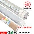 CE levou tubo 1500mm 25 Watt, 130 pcs 5ft SMD2835 T8 tubo de luz