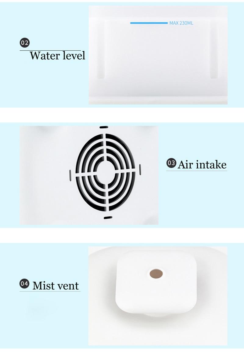 Branco Difusor do Óleo Essencial de Aroma