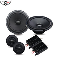 Conjuntos de 6.5 polegadas de 2 Vias falante Componente Do Altofalante Do Carro Car Auto Automotive Car HiFi Speaker Altifalante