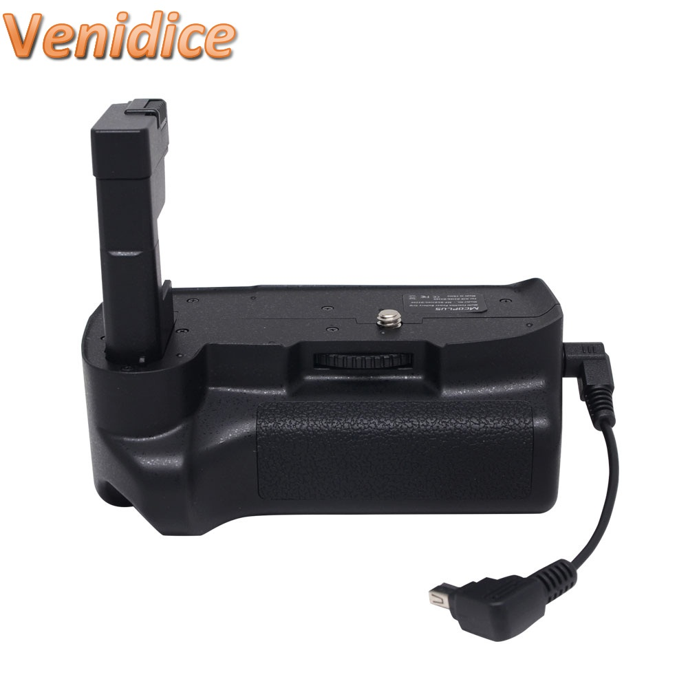 ФОТО Mcoplus Venidice VD-D3200 Vertical Battery Grip Holder Pack for Nikon D3200 D3100 as Meike MK-D3200/D3100