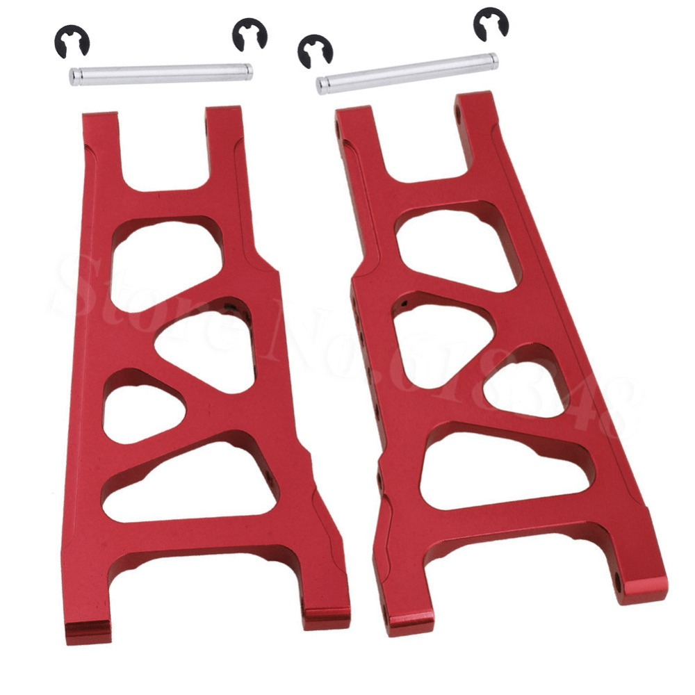 3655X Aluminum Front / Rear Lower Suspension Arms L/R For 1/10 Scale Traxxas Slash 4x4 Stampede 4WD 80704 Replacement Hop-Up tsk 2901bw eggettes professional electric waffle iron blast furnace maker bubble machine egg tart 220v 50hz 20 3cm tray diameter