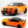 M3 GTS 1:18 KDW 641004 diecast modelo de coche de Juguete de metal coche Deportivo Coupe naranja boy regalo de colección