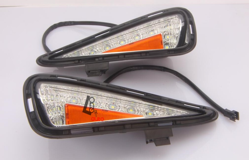car styling LED Daytime running lights for Toyota Camry 2015 car styling 2015 2017 camry daytime