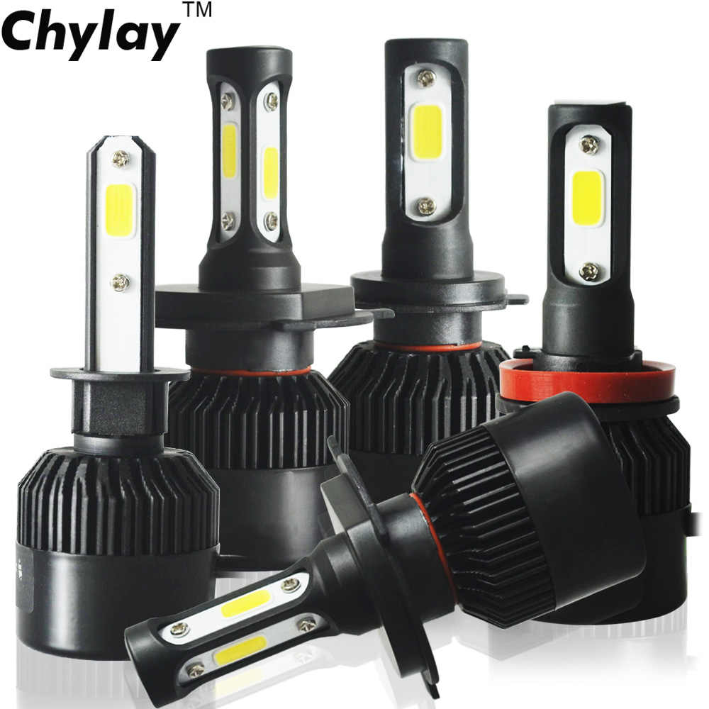 Turbo Led H4 H7 H1 H11 H3 H8 H9 H27 HB4 HB3 9005 9006 9007 881 LED Headlight Bulb 8000lm 6500K Auto Car Lamp Fog Light Bulbs 12V