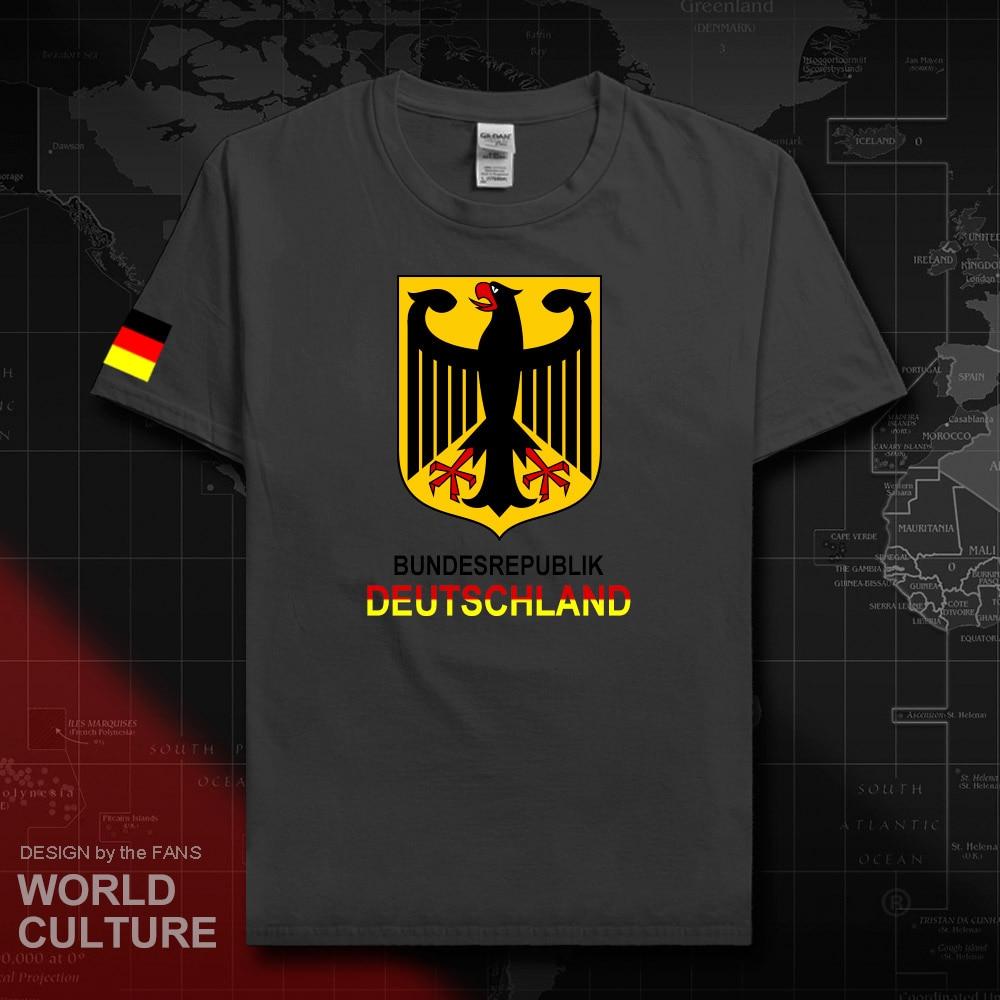 Футболка немецкая deuлland, мужские футболки, 2018 футболка, хлопковая Футболка национальной команды, 100% хлопок, футболки для спортивных встреч и...