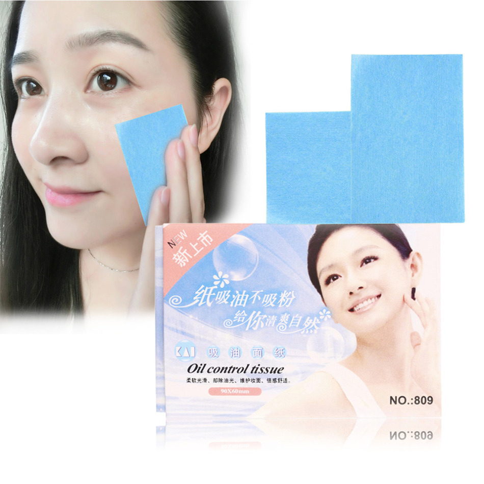 Free Shipping 50Pcs Paper Pulp Random Facial Oil Control Absorption Film Tissue Makeup Blotting Paper MRJK26 pulp and paper industry and environmental disaster