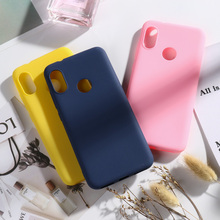 Case Xiaomi Mi A2 Lite for Cases Coque Xiomi Soft TPU Silicone Coves Xiami Bumper