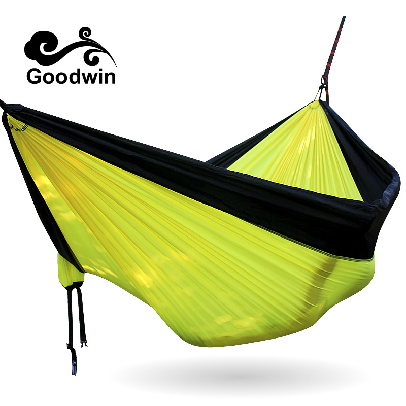 Free shipping Portable High Strength Parachute Fabric Camping Hammock Hanging Bed Outdoor Sleeping Hammock Camping HammockFree shipping Portable High Strength Parachute Fabric Camping Hammock Hanging Bed Outdoor Sleeping Hammock Camping Hammock