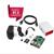 Raspberry Pi 3 Starter Kit COMPLETO, preto, 16 GB Edição Pi3 Modelo B Computador Barebones Motherboard 64bit Quad-Core CPU 1 GB RA
