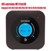 Unlocked used US version Netgear Nighthawk M1 MR1100 LTE CAT16 4GX Gigabit Mobile Router WiFi Hotspot Router without case(China)