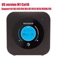 Unlocked used US version Netgear Nighthawk M1 MR1100 LTE CAT16 4GX Gigabit Mobile Router WiFi Hotspot Router PK E5788