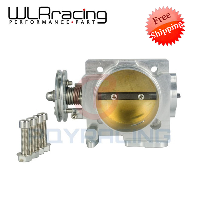 WLR RACING - FREE SHIPPING NEW THROTTLE BODY FOR SUBARU WRX EJ20 EJ25 02-05 70MM THROTTLE BODY WLR6956 e037 women s fashionable rhinestone studded pendant earrings gold green pair