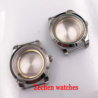 Corgeut 39mm Watch accessories 316L Steel case fit Miyota 8205/8215,ETA 2836,DG2813/3804 fit parnis watch