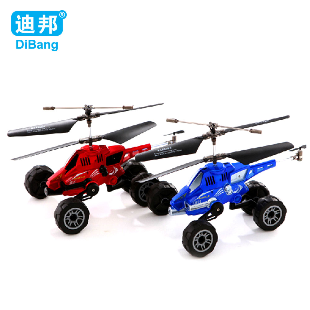 radio controlled rc helicopter electric copter 3 5Channels aircraft Land and air helicopter Free Shipping