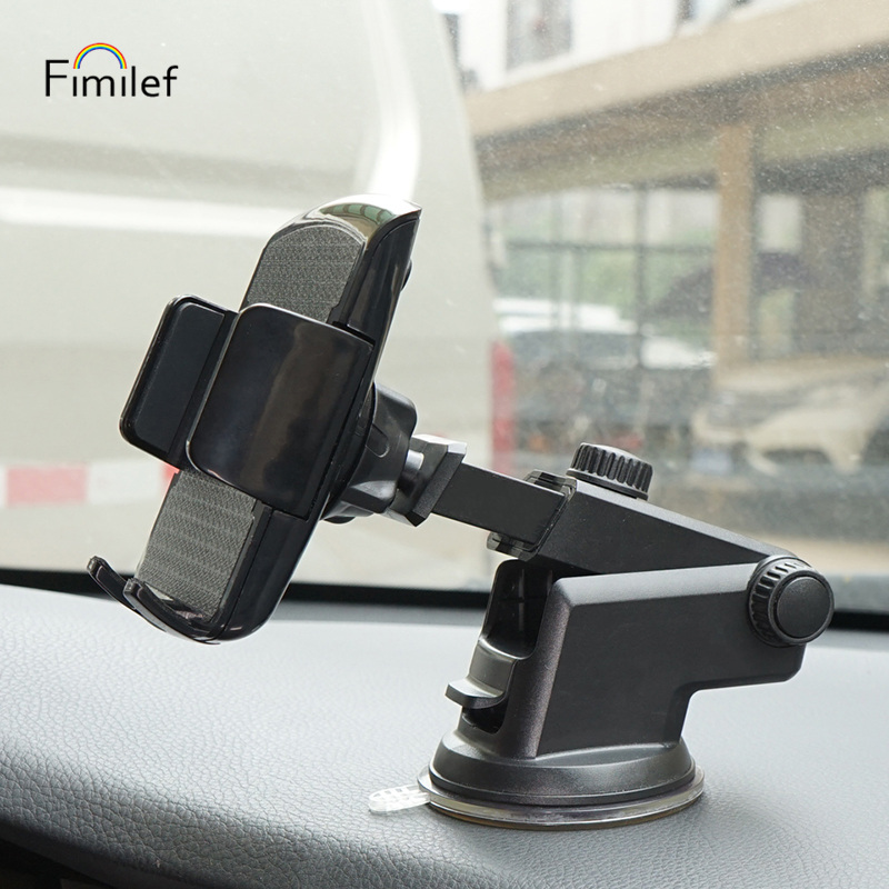 Fimilef Phone Car Holder for Your Mobile Phone Desktop Dashboard Phone holder 360 Degree Rotation Cellphone Samrtphone Stand