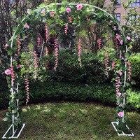 Свадебная АРКА рамка фон украшение вишня цветок Арка стенд дверь свадебный реквизит для украшения вечеринки