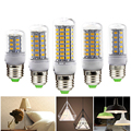 E27 SMD5730 LED Bulb 220V 240V LED Corn Lamp 24/36/48/56/69/81/89LEDs Home Decorated Chandelier Candle Lighting