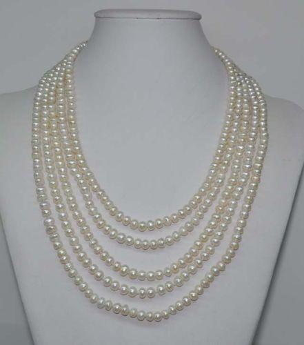 10x10 jewerly freeshipping Free P&P 100 6mm white freshwater pearl necklace10x10 jewerly freeshipping Free P&P 100 6mm white freshwater pearl necklace