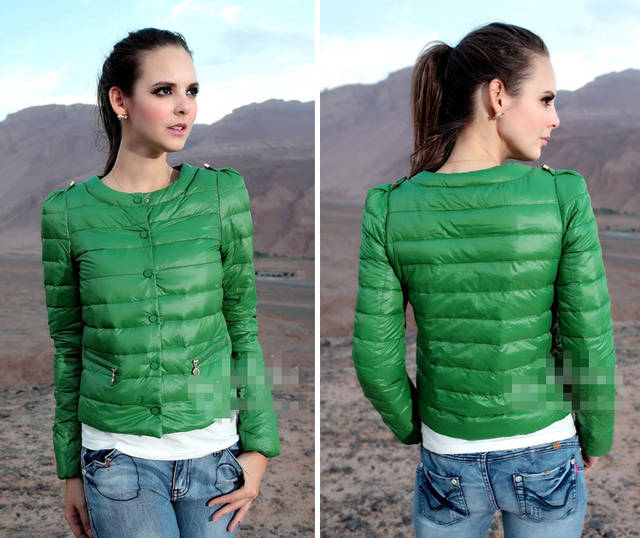 2015 Female Winter Short Down Cotton Jacket Coat Autumn women Jacket