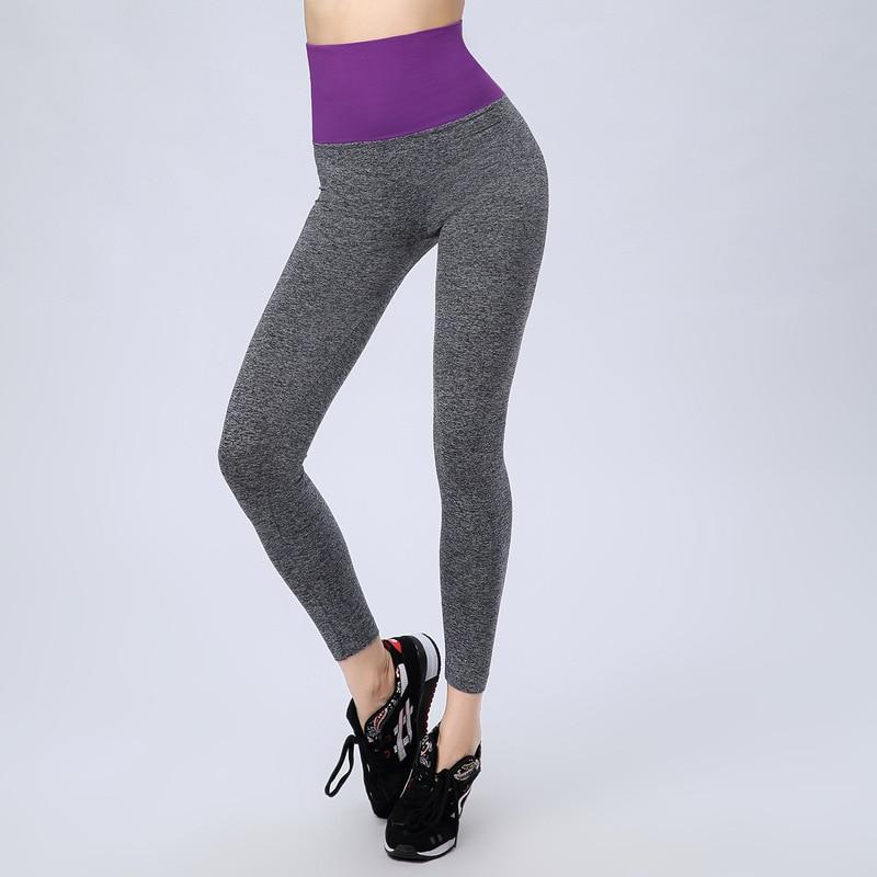 d61ca05898981 حمي اليوغا السراويل المرأة بنطلون الرياضة رياضة sweatpants ممارسة اللياقة  البدنية التجفيف السريع ضغط مرونة طماق الصيف