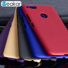 Матовый пластиковый чехол для Xiaomi Mi A1, чехол для Xiaomi Mi A1, 5X, Mi5X, MiA1, задняя крышка для телефона