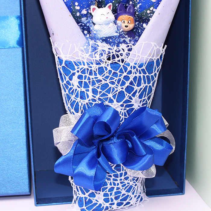 Горячая Dragon Ball Z модель игрушки цветочный букет без коробки Goku Piccolo Gohan Chichi Master Dragon Ball экшн фигурка игрушка подарок на день рождения