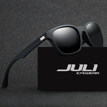 JULI EYEWEAR Polarized Men Sunglasses Sports Oversized Square Driver Fishing Sun Glasses HD Lens Womens Designer Mens JL0921