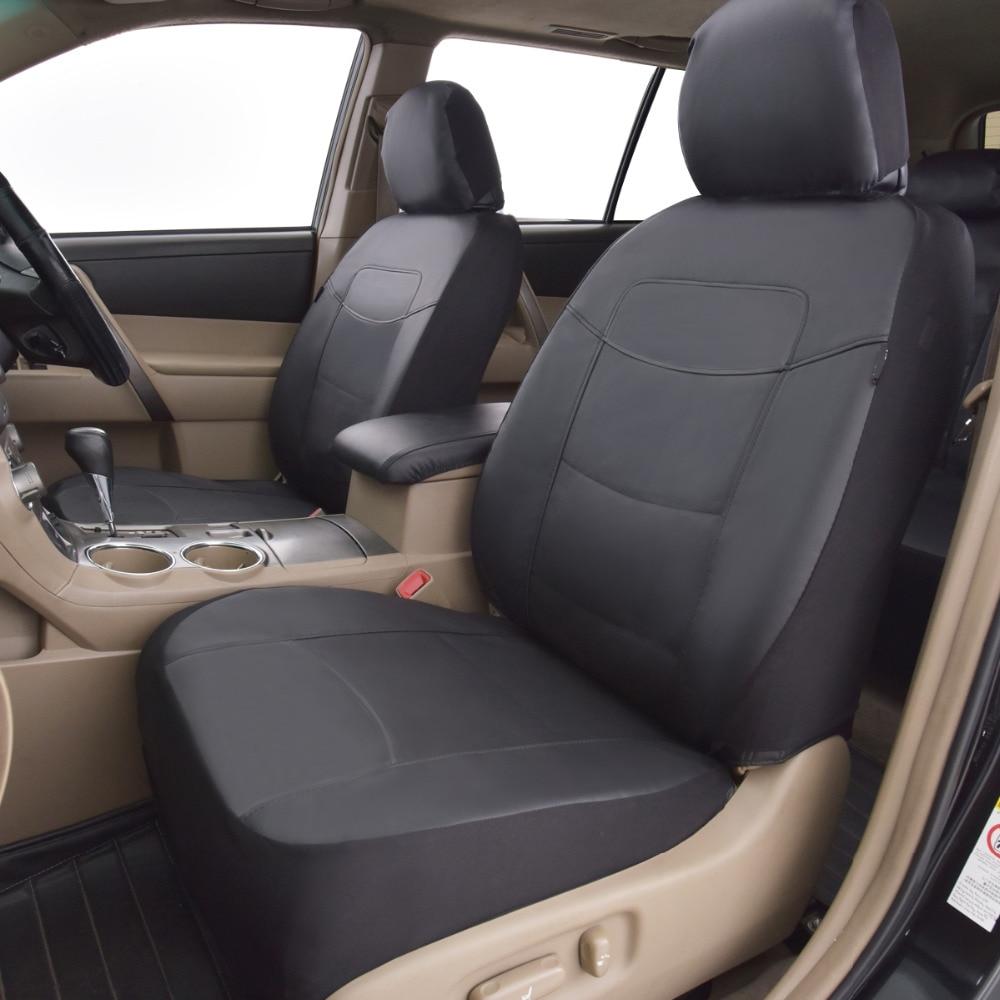 Högkvalitets PU Läder Bilstolsöverdrag Universal 8 färger Bilar - Bil interiör tillbehör - Foto 2