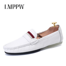 Luxury Brand Slip-On Men Loafers Genuine Leather Shoes Fashion Breathable Men Flats Soft Moccasins Men Driving Shoes Footwear 2A цена