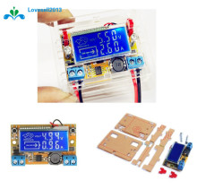 DC DC 5 23V To 0 16.5V Step Down Power Supply Adjustable Voltage Current LCD Display Step Down Buck Module + Acrylic Case