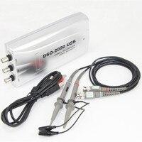 DSO 2090 портативный Оригинальный Hantek цифровой Виртуальный осциллограф USB PC 100 мс/с пропускной способностью 40 МГц