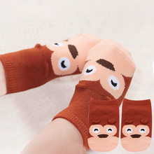 Small Infant Socks Little Ears Cotton Socks Kids Baby Cartoo