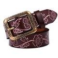 Mujeres cinturones de moda correa de cuero genuino cinturón de cuero cinturones para mujer caliente mujer vaquera cinturon mujer cuero ceinture femme
