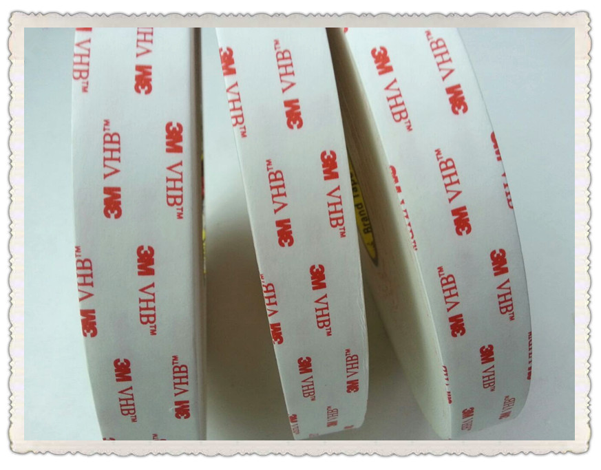 Free Shipping  25mmx33m 3M 4950 VHB Acrylic Double Sided Foam Tape 3m auto tape size 10 15 20mmx3m double sided sticker acrylic foam adhesive car attachment interior tape free shipping