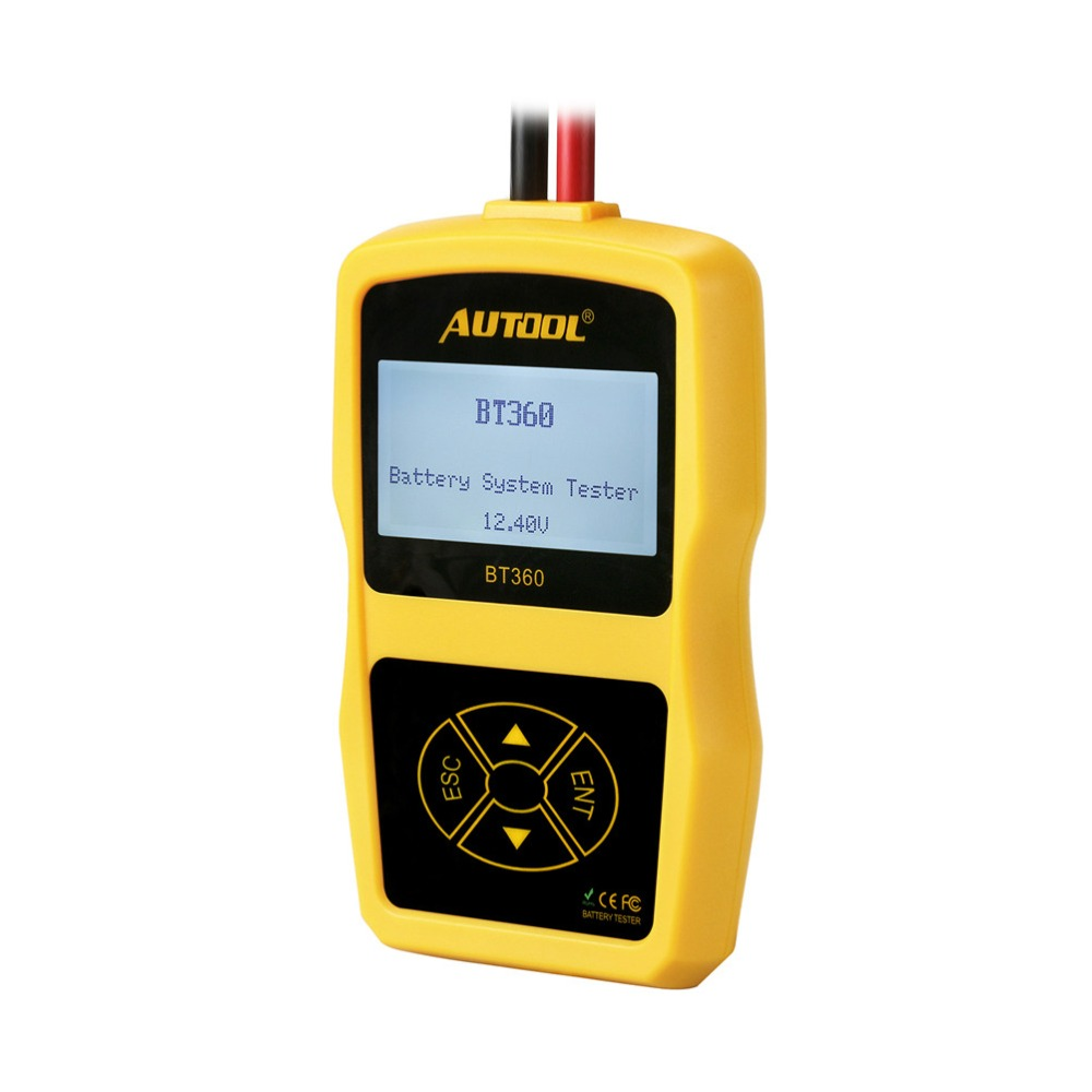 Image 3 - מקורי Autool BT360 אוטומטי סוללה בודק 12 v רכב סוללה מנתח 2000CCA 220AH רב שפה רע סלולרי מבחן רכב כליםcar toolsautomotive battery analyzertester 12v -