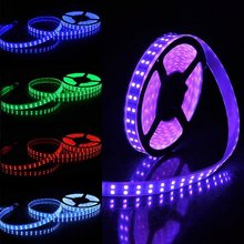 DC 12V 5050 SMD Double row Led Strip RGB White Warm white 120Leds/m Waterproof IP20/67 Light Lamp Tape Diode Backlight