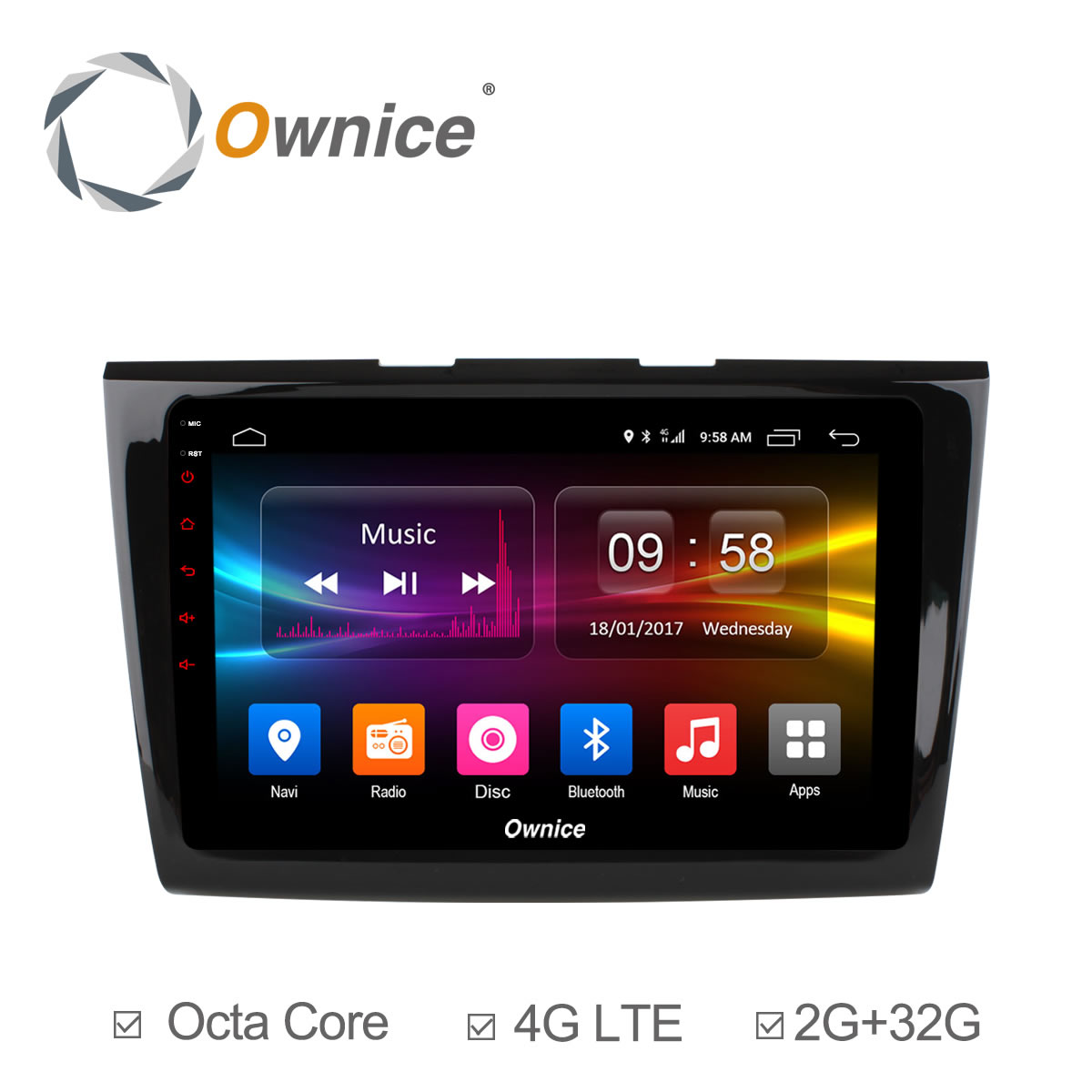 Ownice c500 octa 8 core android 6 0 32g rom car dvd gps navigation for ford taurus