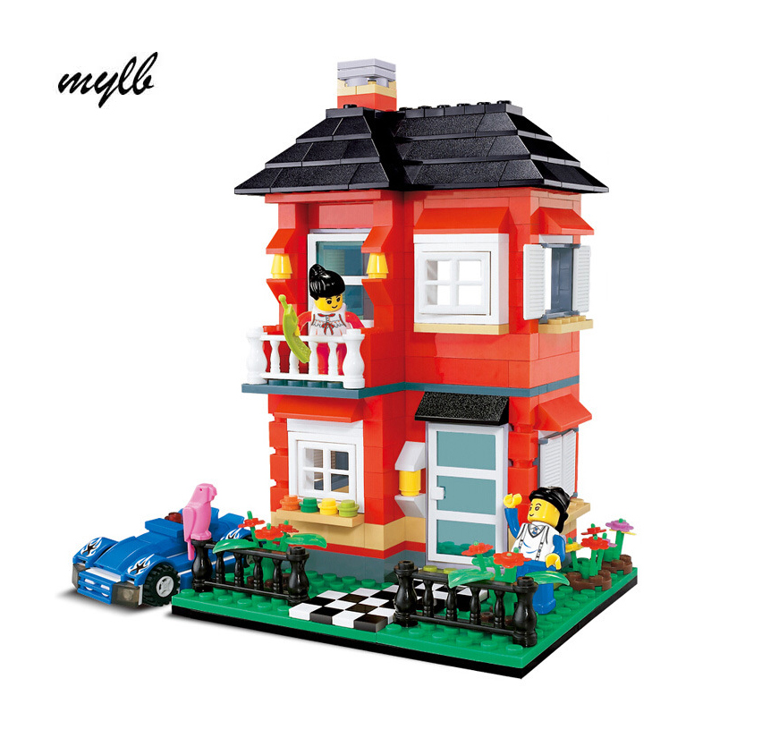 mylb Building Block Set 3D Construction Brick Toys Educational Block toy for children with DIY dropshipping