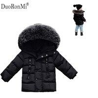 2016 Winter Baby Boys Jacket Winter Clothes Girls Thick Warm Outwear Cotton Pad Kids Snowsuit Children